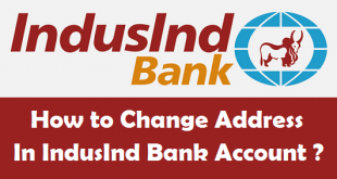 How to Change Address in IndusInd Bank Account