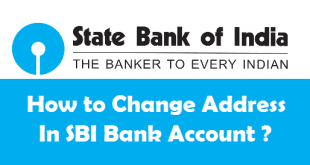 How to Change Address in SBI Bank Account