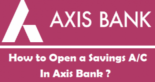 How to Open a Savings Account in Axis Bank