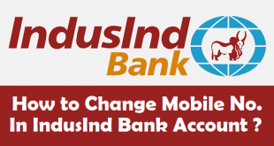 How to Change Mobile Number in IndusInd Bank Account