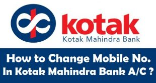 How to Change Mobile Number in Kotak Mahindra Bank Account