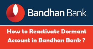 How to Reactivate Dormant Account in Bandhan Bank