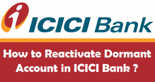 How to Reactivate Dormant Account in ICICI Bank