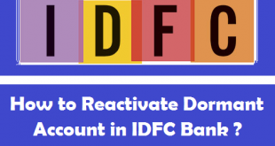 How to Reactivate Dormant Account in IDFC Bank