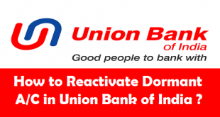 How to Reactivate Dormant Account in Union Bank of India