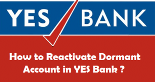 How to Reactivate Dormant Account in YES Bank