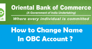 How to Change Name in Oriental Bank of Commerce Account