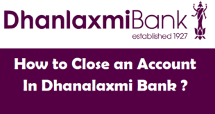 How to Close a Bank Account in Dhanalaxmi Bank
