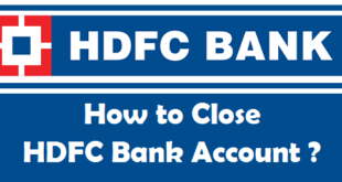 How to Close a Bank Account in HDFC Bank