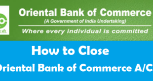 How to Close a Bank Account in Oriental Bank of Commerce