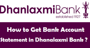 How to Get Bank Account Statement in Dhanalaxmi Bank