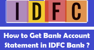 How to Get Bank Account Statement in IDFC Bank