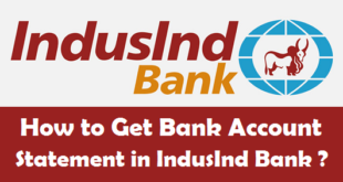 How to Get Bank Account Statement in IndusInd Bank