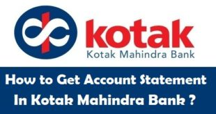 How to Get Bank Account Statement in Kotak Mahindra Bank