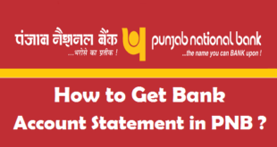 How to Get Bank Account Statement in PNB