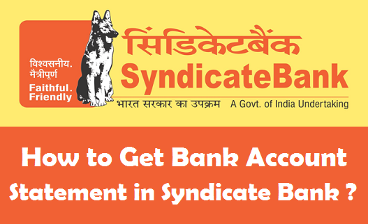 syndicate bank balance enquiry on mobile