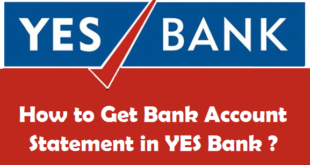 How to Get Bank Account Statement in YES Bank