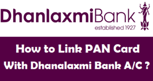 How to Link PAN Card with Dhanalaxmi Bank Account