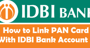 How to Link PAN Card with IDBI Bank Account