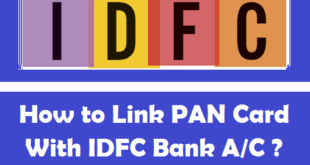 How to Link PAN Card with IDFC Bank Account