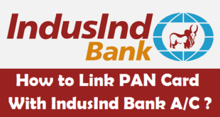 How to Link PAN Card with IndusInd Bank Account