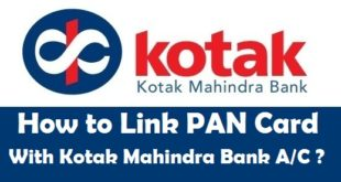 How to Link PAN Card with Kotak Mahindra Bank Account
