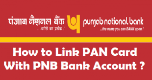 How to Link PAN Card with PNB Bank Account
