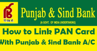 How to Link PAN Card with Punjab & Sind Bank Account