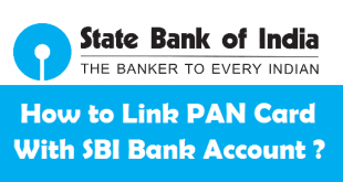How to Link PAN Card with SBI Bank Account