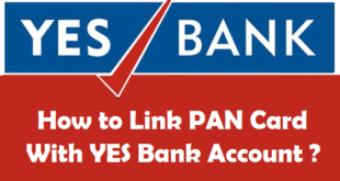 How to Link PAN Card with YES Bank Account