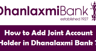 How to Add Joint Account Holder in Dhanalaxmi Bank