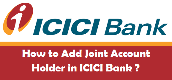 how to open joint account in icici bank online