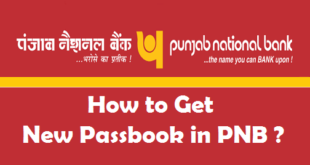 How to Get New Passbook in PNB