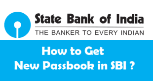 How to Get New Passbook in SBI