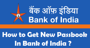 How to Get New Passbook from Bank of India