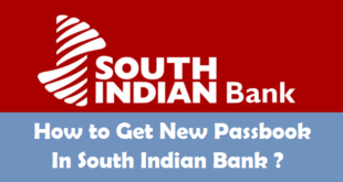 How to Get New Passbook in South Indian Bank